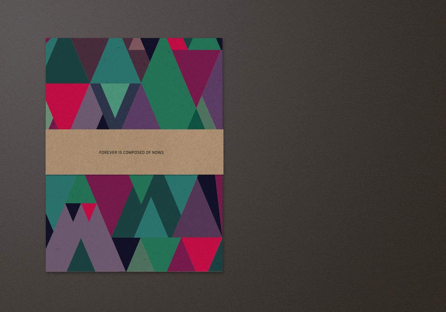 Wedding Invitation Geometric Pattern