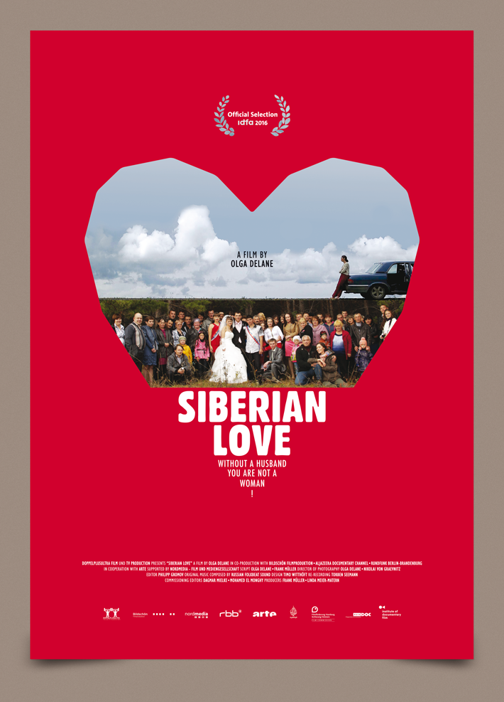 Siberian Love poster by zazdesign english