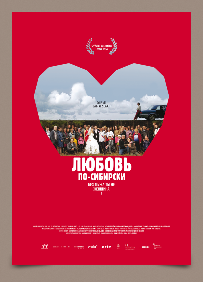 Siberian Love poster by zazdesign russian