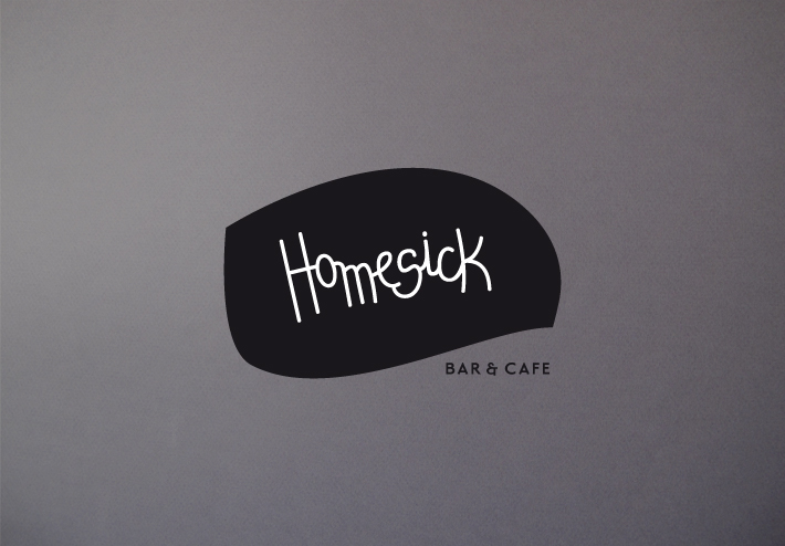 homesick bar & cafe logo