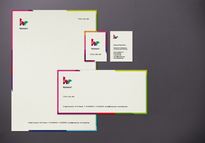 hr passport stationery by zazdesign
