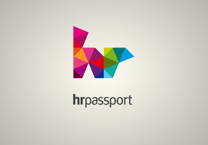 hr passport logotype by zazdesign