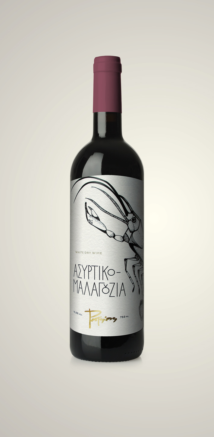 potsios greek white wine (asurtiko)