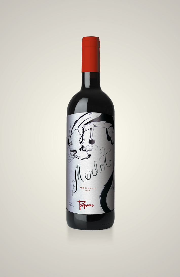 potsios greek wine (merlot)